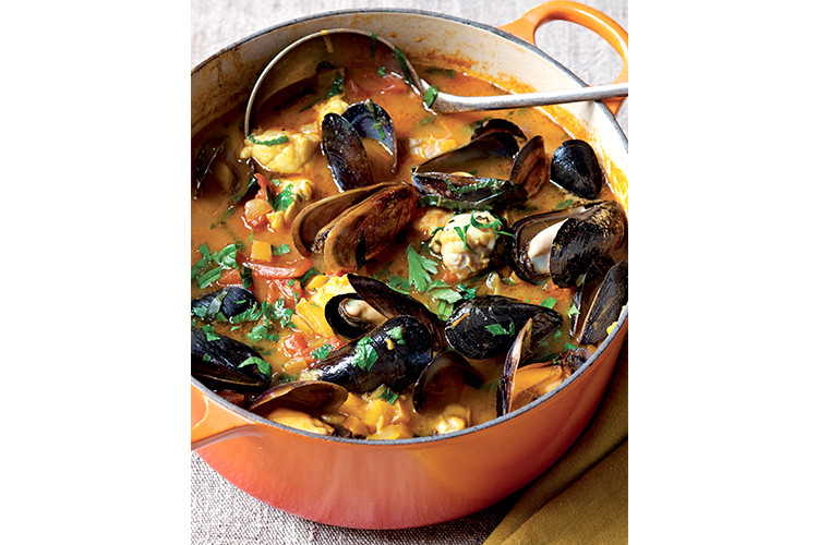 every year jeffery and i spend new years eve in paris with friends we hire a taxi to drive us all over the city at night to see the sights lit up - Fish Stew Ina Garten